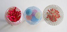 Mariko Kusumoto Rings: Untitled, 2014 Polyester, silk, thread, silver