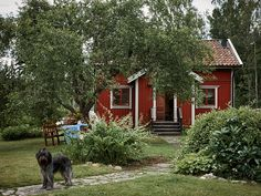 A Traditional Swedish Farm Surrounded By Nature — THE NORDROOM - Liz Bongiovanni Piccione-Volger - internationally inspired Scandinavian Cottage, Swedish Cottage, Swedish Decor, Red Cottage, Swedish Style, Swedish House, Cottage Style, Cottage Chic, Small Country Homes