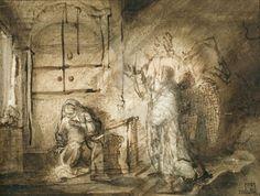 Rembrandt Harmenszoon van Rijn all_drawings Rembrandt Etchings, Rembrandt Drawings, Leiden, Amsterdam, Art Quiz, Dutch Golden Age, Dutch Painters, First Art, Classical Art