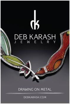 Deb Karash Jewelry | Drawing on Metal