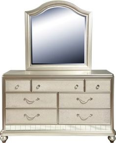 Sofia Vergara Petit Paris Champagne Vanity Mirror And