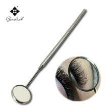 Espelho de maquiagem para verificar a extensão dos cílios ferramentas de maquiagem espelho dental Removível de aço inoxidável(China (Mainland))