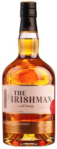 This is a classic Irish Malt, triple distilled and aged in Oak Bourbon and Oloroso Sherry Casks to give exceptional flavour and complexity. - The Irishman Premium Whiskey Range