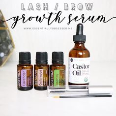 This blend is an incredible NATURAL Lash Boost or Brow growth serum. . . In a mascara tube, fill 3/4th with castor oil add in 2-3 drops…