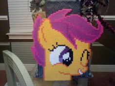 MLP Cutealoo perler beads by ~Perler-Pony on deviantART
