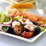 Gourmetsalat - Opskrifter    http://www.dansukker.dk/dk/opskrifter/gourmetsalat.aspx  #salat #gourmet #sommer #dansukker #opskrift