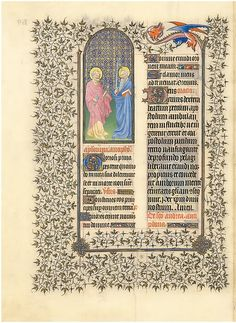 """The Belles Heures of Jean de France, Duc de Berry (image 99) 