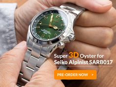 Super Oyster + 3D + Seiko Alpinist = ?  Pre-order now at www.strapcode.com! These will go quick!  #Iwantstrapcode  #strapcode #MiLTAT