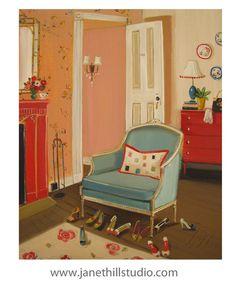 The Barbizon Hotel 1953. Art Print by janethillstudio on Etsy