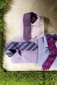 Tip: Make sure the widest width of your collar is around the same size as the bottom width of your tie.     For every repin, Saks will donate $1 to St. Jude Children's Research Hospital!