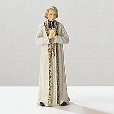 Roman Inc. St. John Vianney * Saint Catholic Figurine Patron 40700