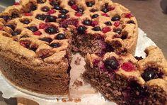 Fitness torta bez múky a cukru