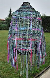 Tejidos en telar: lana perugina y lana