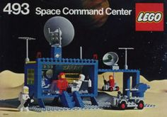 Lego Space Command Center my friend has it i do not yet. Manual Lego, Best Lego Sets Ever, Lego Vintage, Vintage Space, Old Lego Sets, Technique Lego, Big Lego, Lego Space Sets, Classic Lego