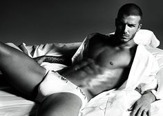 David Beckham... don't know why this made me think of you @ashley thompson hahahh!