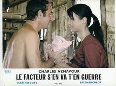 CHARLES-AZNAVOUR-LE-FACTEUR-S-039-EN-VA-T-039-EN-GUERRE-1966-6-PHOTOS-ANCIENNES First Indochina War, 6 Photos, Ebay, The Letterman, Antique Pictures, War