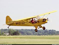 Piper J-3C-65 Cub... My first airplane ride was in this and the best memories of my childhood was up in one of these.