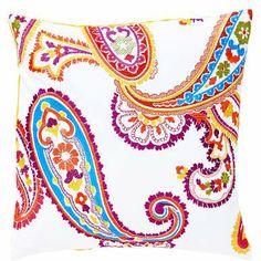 Bei der Mini-Serie Paisley treffen trendige Töne auf ein traditionelles Muster - und als Ergebnis lacht Ihnen ein lebendiges Leuchten entgegen. Die stylishe Mini-Serie umfasst einen Tischläufer und Kissen in zwei Größen. Rückseite unifarben in gelb.