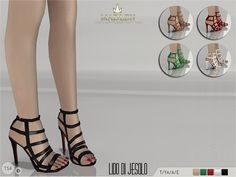 The Sims Resource: Madlen Lido di Jesolo Sandals by MJ95 • Sims 4 Downloads