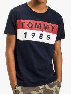 bcb0c6fa Tommy Jeans Logo T-Shirt Black Iris Evolve Clothing, Black Iris, Designer  Clothes