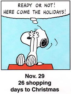 Peanuts: This is a classic countdown panel from 1999 Snoopy Cartoon, Snoopy Comics, Peanuts Cartoon, Peanuts Snoopy, Cartoon Fun, Days To Christmas, Peanuts Christmas, Charlie Brown Christmas, Charlie Brown And Snoopy