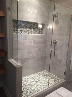 ✔Top 45 Best Modern Bathroom With Wall-Mounted Ideas In 2019 7 ~ TopInteriorsDesign.Com ✔Top 45 Best Modern Bathroom With Wall-Mounted Ideas In 2019 7 ~ TopInteriorsDesign. Master Bathroom Shower, Modern Master Bathroom, Modern Bathroom Design, Bathroom Interior Design, Bathroom Shower Remodel, Small Shower Remodel, Condo Bathroom, Modern Bathrooms, Master Bathrooms