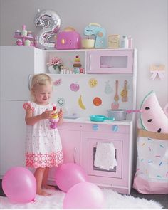 """""""@booandbearbaby I absolutely am envying this cute #kmarthack you have done on the kids kitchen from @kmartaus  after doing one on the dollhouse I know…"""""""