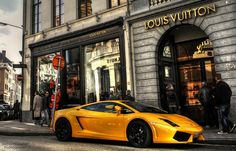 Louis Vuitton and Lamborghini. What more could one ask for?
