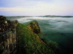 Northumberland National Park in England -  a portion of Hadrian's Wall borders this UNESCO Site.   Photo by NatGeo