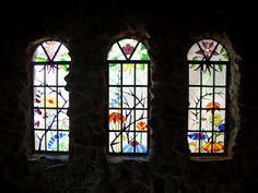 Bishop's Castle windows, Rye, CO