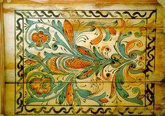Kazettás mennyezeteink motivumki Homesteads, Curtains, Antiques, Folk Art, Paintings, Painted Furniture, Antiquities, Blinds, Antique