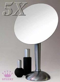 Speert Brushed Nickel 5x Beauty Mirror * Continue to the product at the image link from Amazon.com