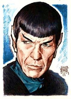 Star Trek - Commander Spock by Eric Muller
