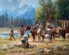 Martin Grelle Snake River Culture