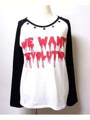 REVOLUTION Raglan T-Shirt