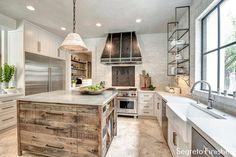 A Masterval Renovation-Interior!-finishes by Segreto! Segretostone counters, slurried brick, plastered surfaces.