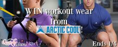 WIN workout gear from Arctic Cool for your new year's resolution! Ends 1/4