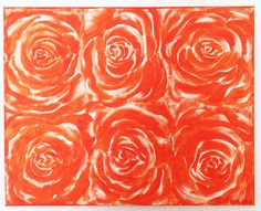 Sunset Roses 2 - Rose Series 1. $115.00, via Etsy. SOLD OUT!