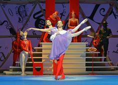 Beatriz Stix-Brunell and Rupert Pennefather in Alice's Adventures in Wonderland.  © Dave Morgan