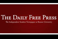 Boston University BU, The Daily Free Press, student newspaper, transition from daily to weekly newspaper news source