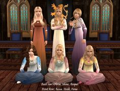 Click to see full size image Renaissance Fashion, Previous Life, Dress Silhouette, Dip Dye, Sims 2, Italian Style, Middle Ages, Simple Dresses, Simple Style