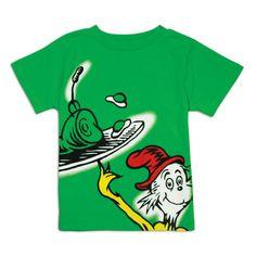 For Boys! Dr. Seuss Green Eggs and Ham Infant/Toddler Short Sleeve T-Shirt $14.49