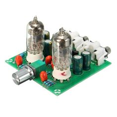 6J1 Valve Preamp Tube PreAmplifier Board Musical Fidelity X10-D Circuit #6J1 #preamp #diyelectronics #diydeals #geek