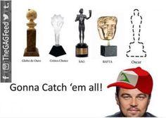 11 Hilarious Memes of Leonardo DiCaprio Struggling to Win an Oscar