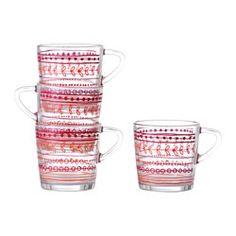 Cooking & eating - Cookware, bakeware & food storage - IKEA ~ Christmas mugs ~ $6 for 4 pk