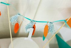 Cute Hipster Cake Garland from this Hipster Baby Boy 1st Birthday Party with Such Cute Ideas via Kara's Party Ideas Kara Allen KarasPartyIdeas.com #nativeamericanparty #indianp...