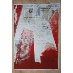collage with printmaking