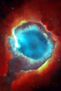 Helix Nebula, the Eye of God