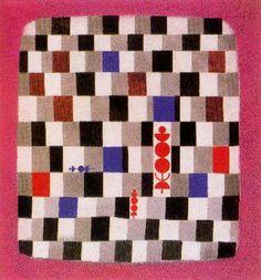Überschach. 1937. Obra de Paul Klee