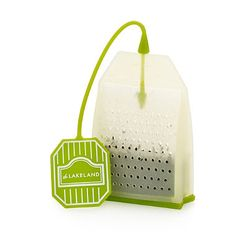 Silicone Tea Bag from Lakeland Limited. For those that like loose tea & don't want to brew a whole pot. Need to buy one of these!